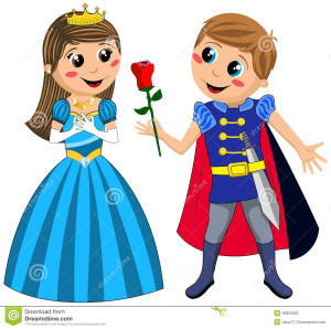 kids-prince-princess-love-rose-isolated-medieval-knight-offering-red-to-little-eps-available-49923022